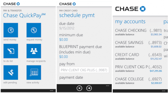 Chase mobile finally coming to windows phone tecklyfe windows phone has been left behind when it comes to mobile banking apps weve had one for bank of america for a while now malvernweather