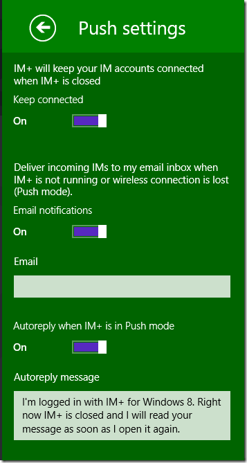 IMplus - 04 - push-settings