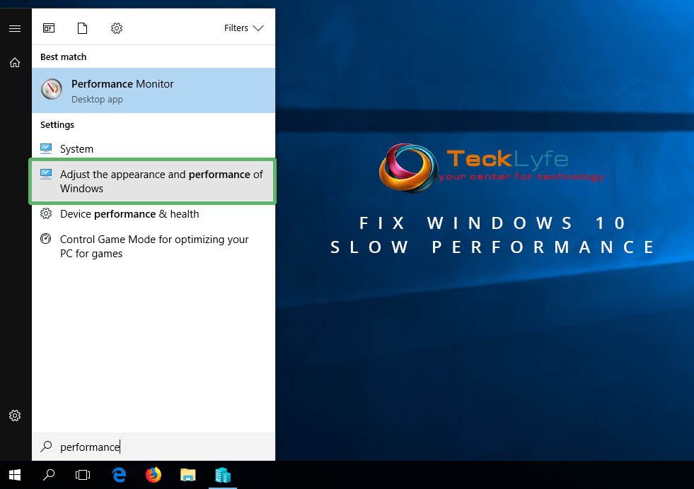 How To Fix Windows 10 Slow Performance Tecklyfe