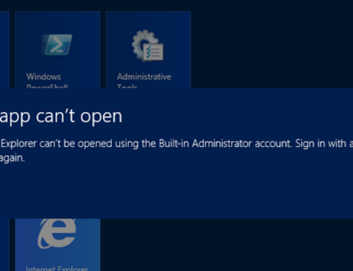 Fix: This app can't open for Built-in Administrator account