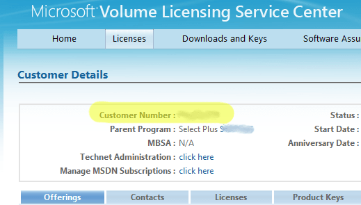 microsoft volume licensing open value subscription