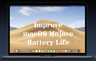 Improve macOS Mojave Battery Life