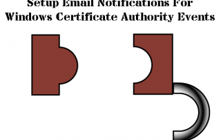 Windows Certificate Authority Email Notifications